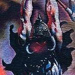 Frank Frazetta's Death Dealer Tattoo Design Thumbnail